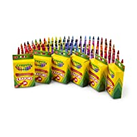 Deals on 6-Pack Crayola Crayons School & Art Supplies 24-Ct 52-2024