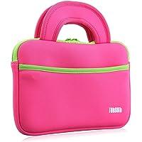 Funda Protectora Bolsa de protección para Dragon Touch Y88X Plus Y88X PRO Tablet para Niños Rosa