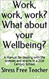 Work, work, work? What about your Wellbeing?: A manual for dealing with the stresses and strains in a 21st Century School