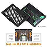 ICY DOCK Ezconvert (Tool-Less) M.2 SATA SSD to
