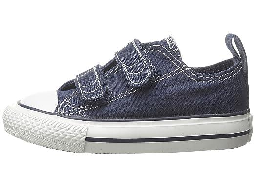 acb58dd66735 Converse Chuck Taylor Infant Navy Velcro Sneaker