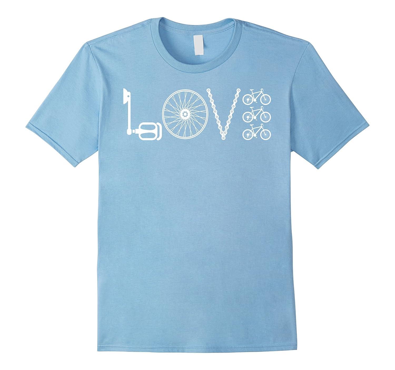 Love Cycling T Shirt Bicycle Riders Gift Idea Bike Lover Td Teedep