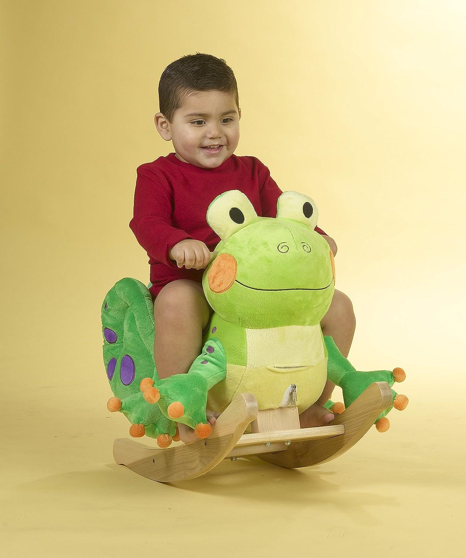 One Size 663488850262 Rockabye Fergie Frog Rocker