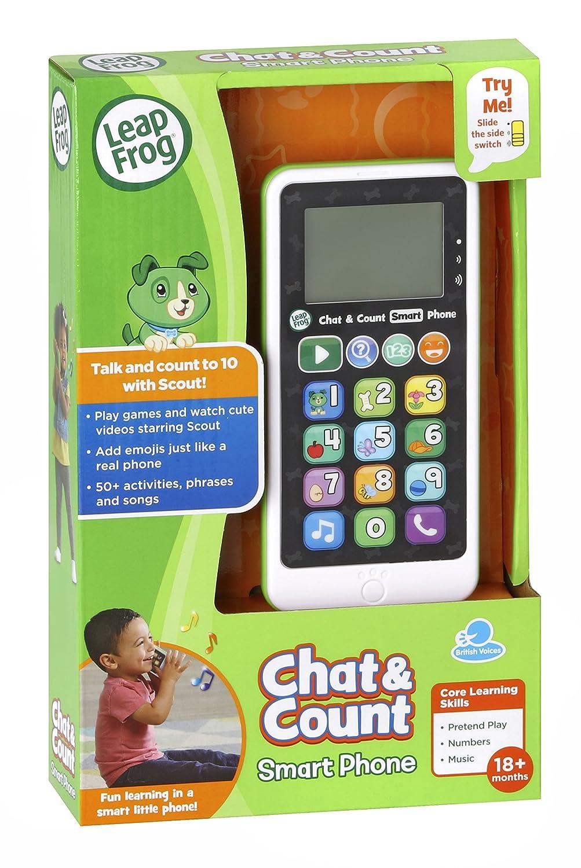 One Size Multi LeapFrog 603703/Chat /& Z/ählen Telefon Scout Lernspielzeug