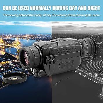 Leepesx NV0535 Visión nocturna 5X Óptico 8X Zoom digital Cámara ...
