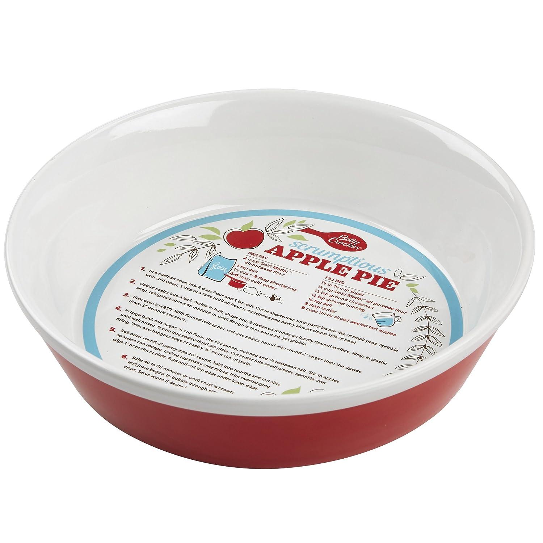 sc 1 st  Amazon.com & Amazon.com: Betty Crocker 28619 Ceramic Pie Plate Red: Kitchen \u0026 Dining