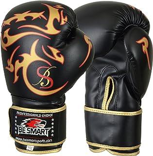 Mesdames or Gel Gants de boxe pour femme Sac Gym Mitaines pour Boxe MMA Muay Thai 10oz–16oz Livraison gratuite UK