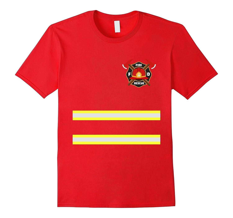 Firefighter or Fireman Costume T-Shirt-T-Shirt