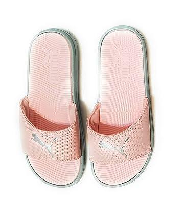 puma slippers pink amazon
