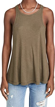 Free People Women S Long Beach Tank Top At Amazon Women S Clothing Store