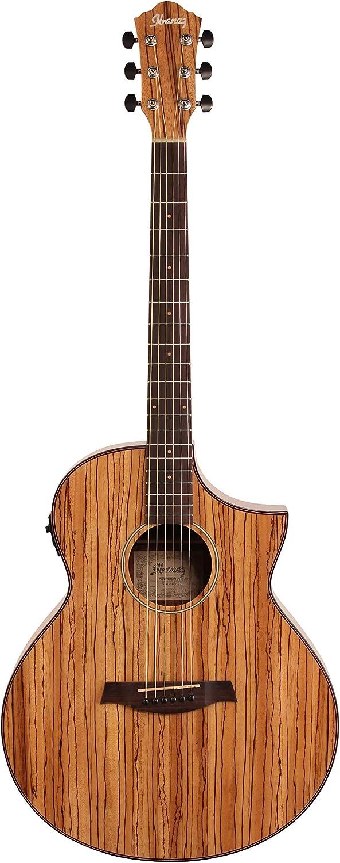 Ibanez AEW40ZW – Guitarra electroacústica: Amazon.es: Instrumentos ...