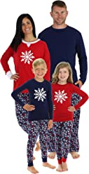 Sleepyheads Navy Snowflake Family Matching Pajama Set