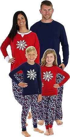 Sleepyheads Navy Snowflake Family Matching Pajama Set