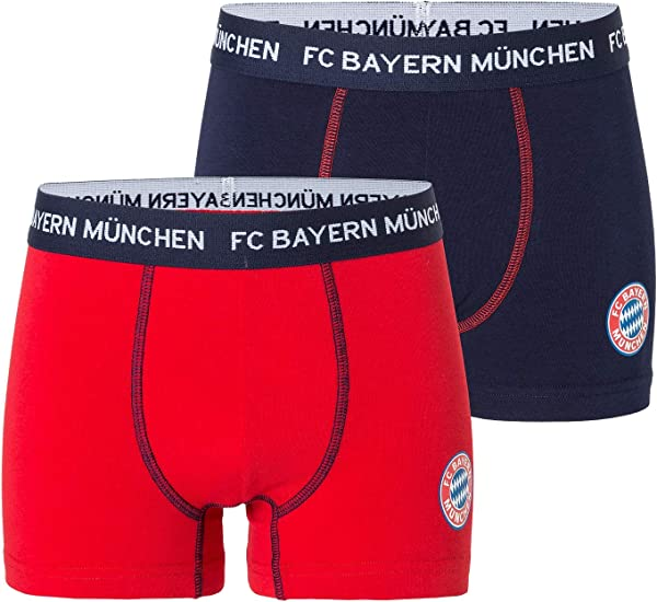 FC Bayern M/ünchen Unterw/äsche Boxershorts