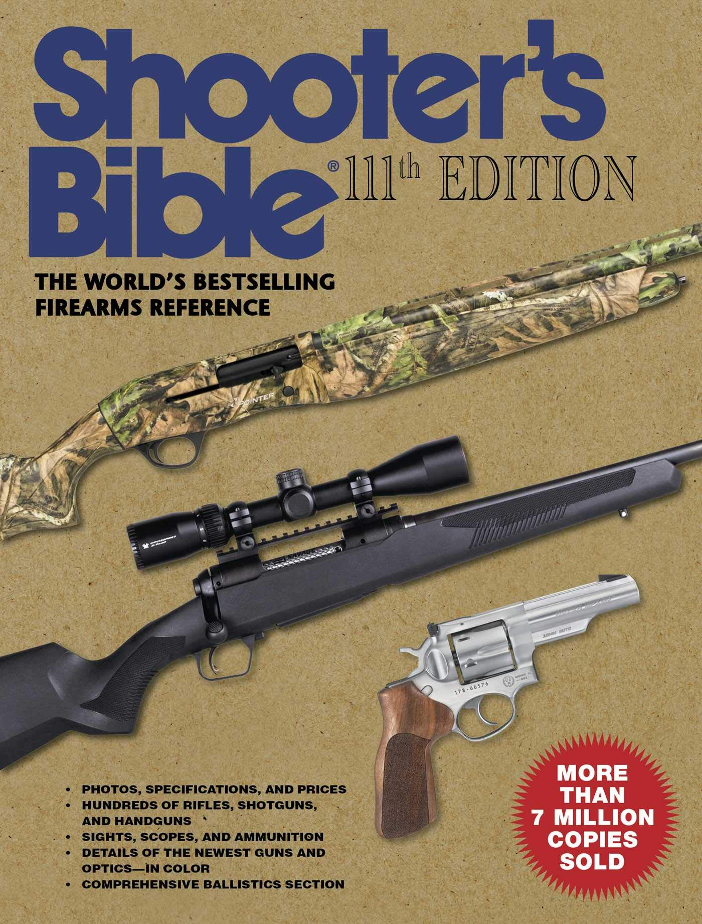 Shooter's Bible, 111th Edition: The World's Bestselling Firearms Reference: 2019-2020 by SKYHORSE