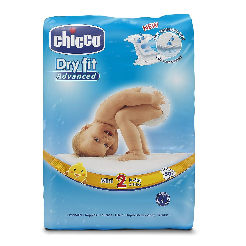 Chicco Dry Fit Advanced capa Mini 250 unidades, talla 2: Amazon.es: Salud y cuidado personal