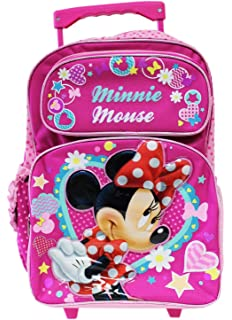Small Size Red and Pink Daydream Minnie Mouse Kids Backpack by Disney Disney F12mK9P