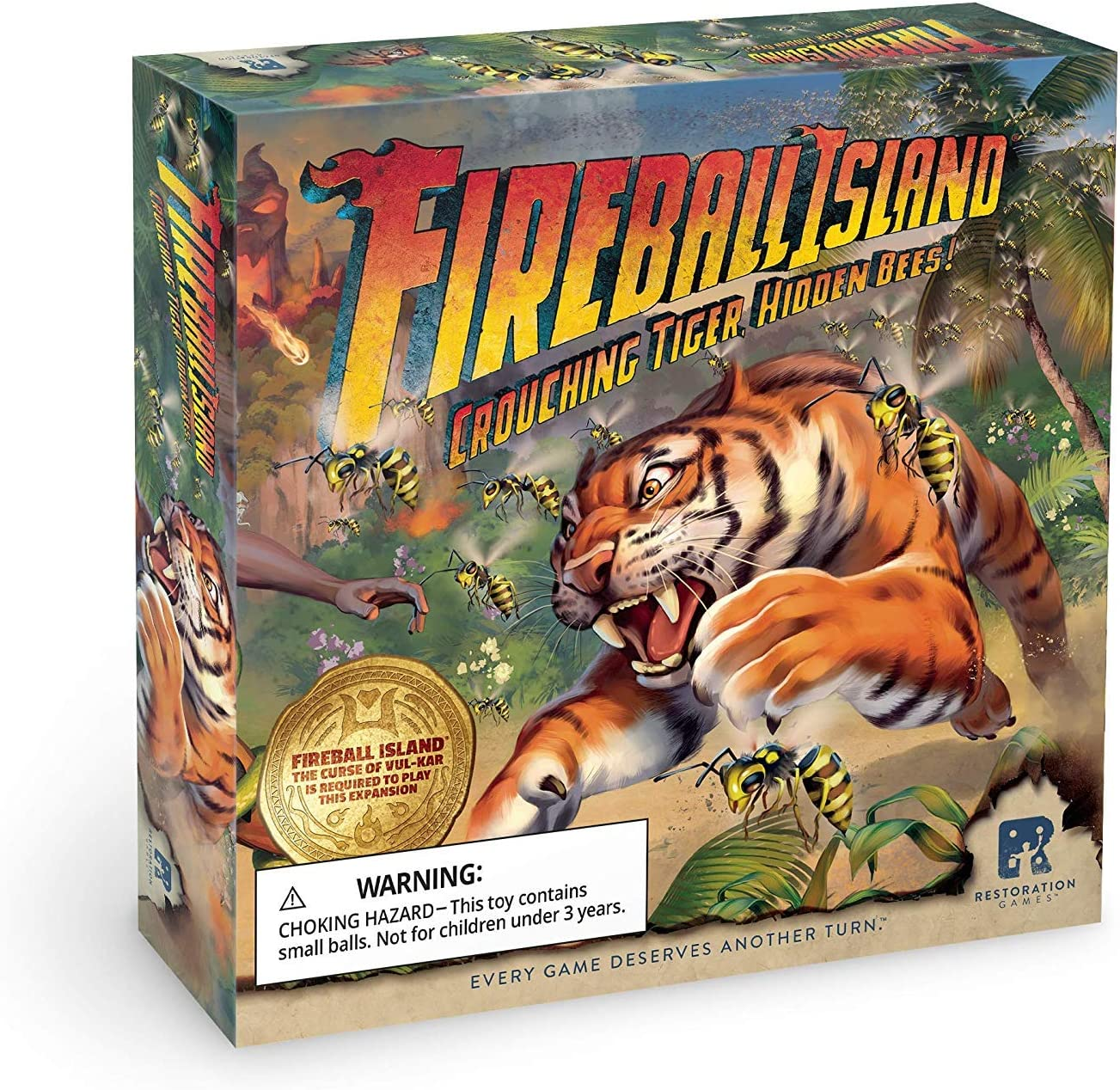Fireball Island Crouching Tiger Hidden Bees Board Game Expansions ...