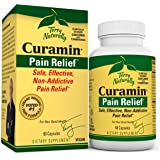 Terry Naturally Curamin - 60 Vegan Capsules - Non-Addictive Pain Relief Supplement with Curcumin from Turmeric, Boswellia & D