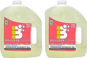 Boulder Clean Dishwasher Detergent Gel, Citrus Medley, 100 oz (Pack of 2)