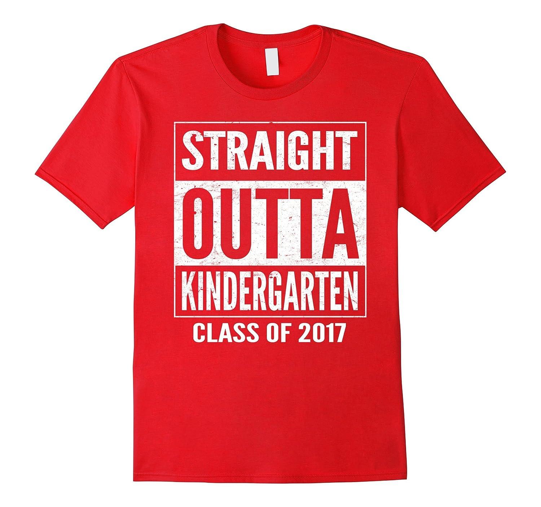 Straight Outta Kindergarten 2017 T-Shirt-Vaci