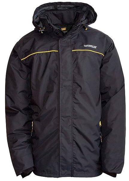 Caterpillar Mens Mens Traverse Waterproof Jacket Black