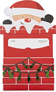 Gift Card in a Santa Chimney Reveal