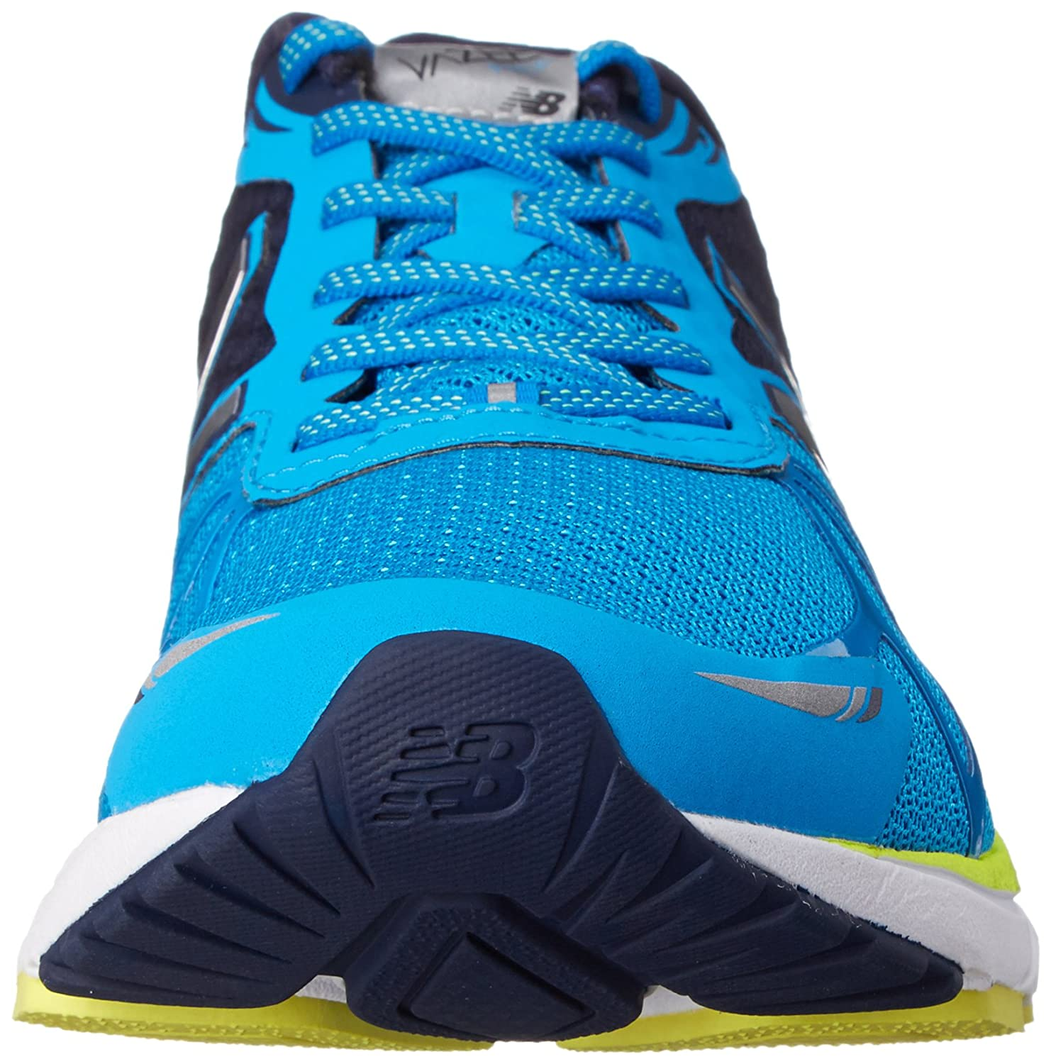 New Balance Mpace D - Zapatillas de correr de lona hombre, azul - Blau (by Blue/yellow), 42: Amazon.es: Zapatos y complementos