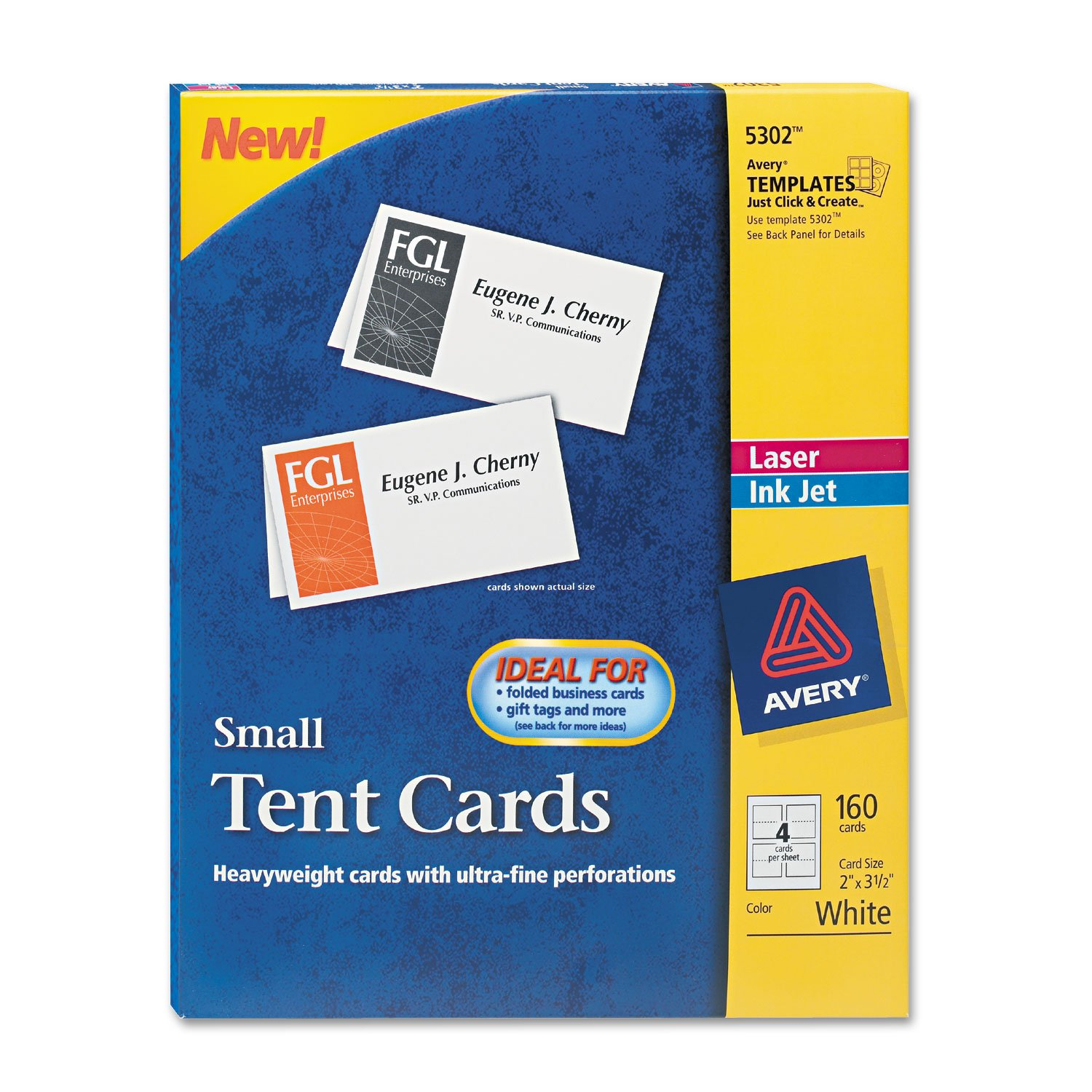 AVE5302 - Small Tent Card