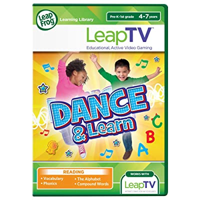 LeapFrog LeapTV Dance and Learn Educational, Active Video Game: Toys & Games [5Bkhe1804367]