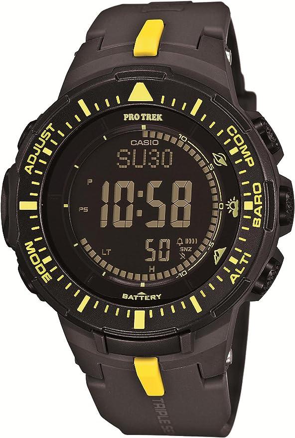 [カシオ] 腕時計 プロトレック Triple Sensor Ver.3 ソーラーモデル PRG-300-1A9JF ブラック