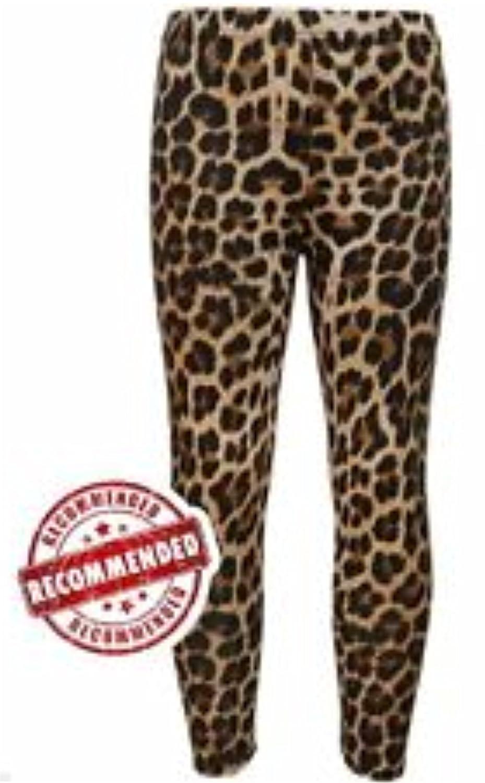 5bc661aec3762 New Girls Kids Leopard Animal Print Fashion Leggings Pants Trousers 7-13  Years (13 Years): Amazon.co.uk: Clothing