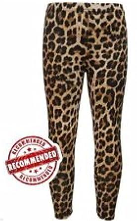 db2df548d21f1 New Girls Kids Leopard Animal Print Fashion Leggings Pants Trousers 7-13  Years (13 Years): Amazon.co.uk: Clothing