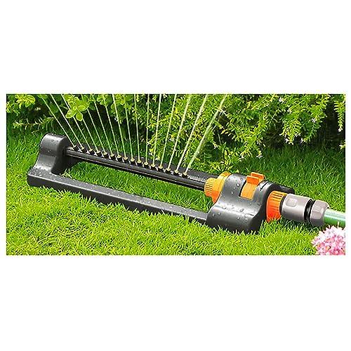 Quantum Garden Black Line Compact Oscilating Swinging Sprinkler