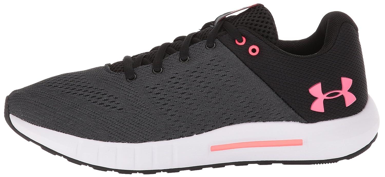 Under Armour Women's Micro G Pursuit Sneaker B071VKZQ7J 11 M US|Black (001)/Anthracite