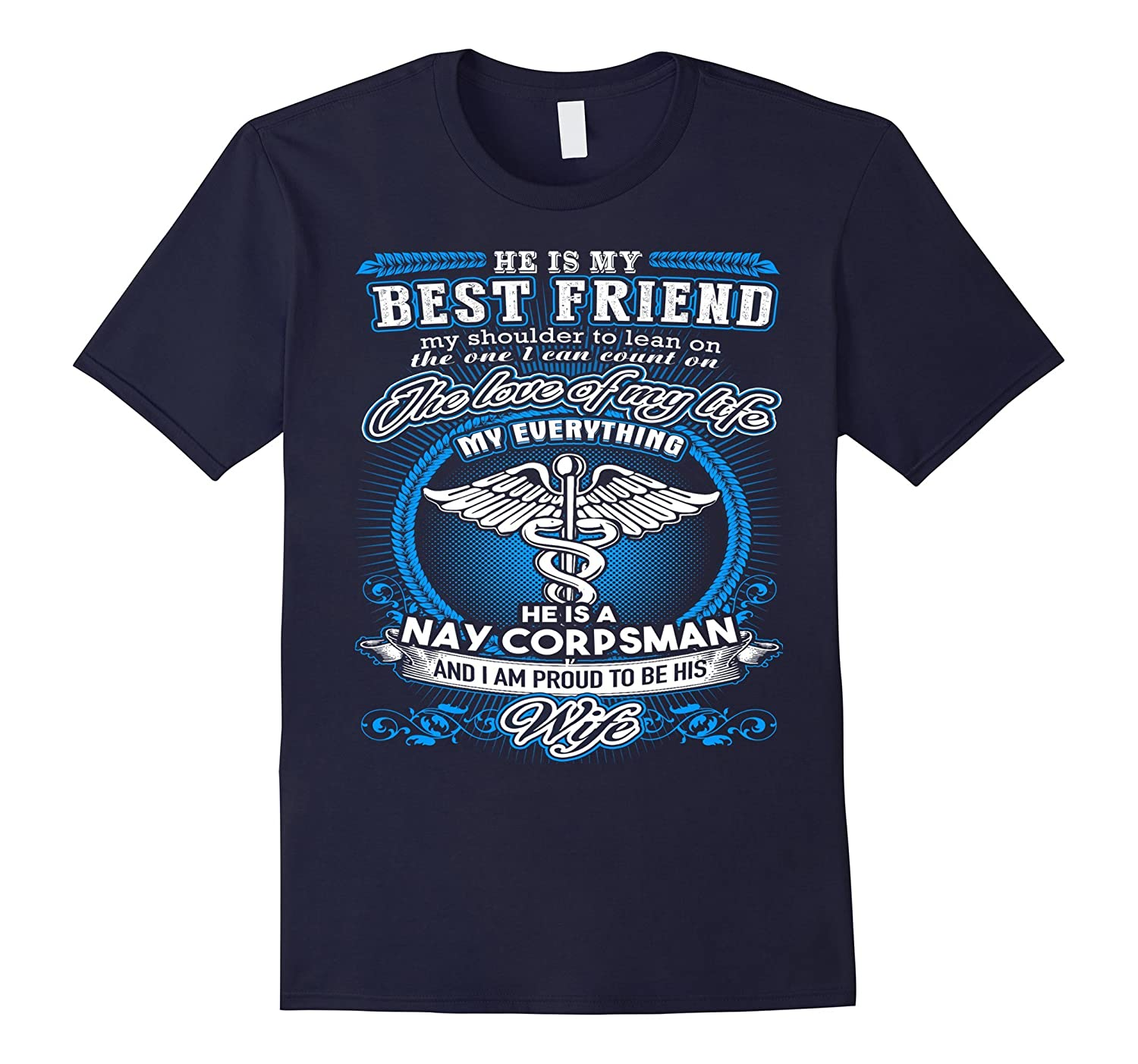 Wife' navy corpsman Tshirt