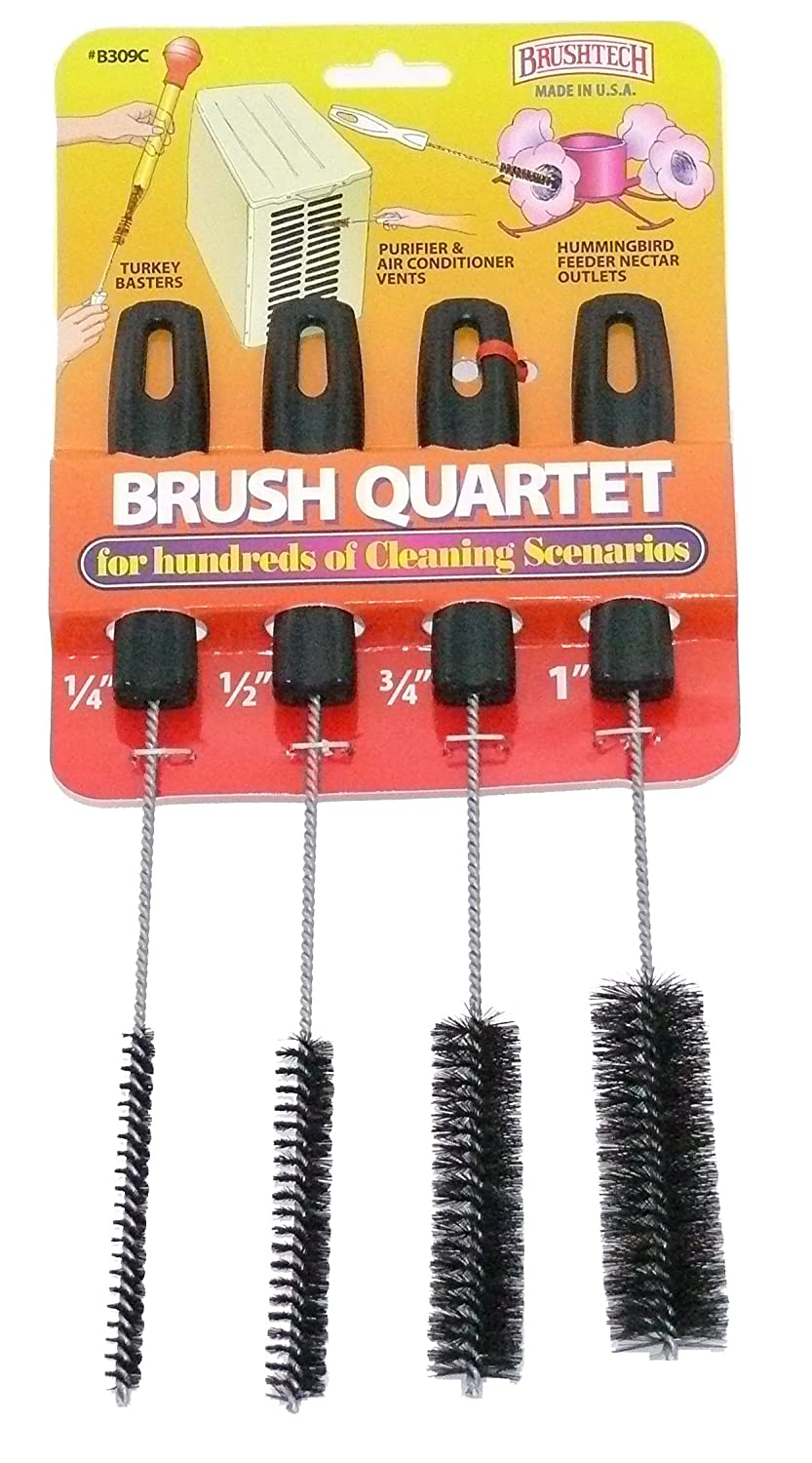 Brushtech Brush Quartet for Hundreds of Cleaning Scenarios B309C