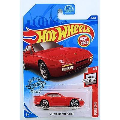 Hot Wheels 2020 Porsche Series '89 Porsche 944 Turbo 47/250, Red: Toys & Games
