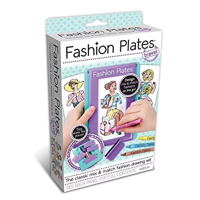 Fashion Plates Travel Kit: Toys & Games