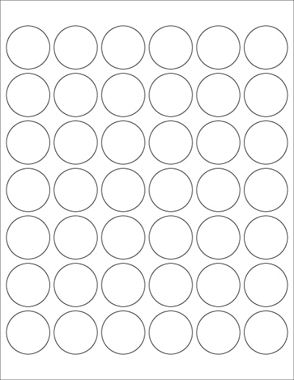 ChromaLabel - Etiquetas redondas para impresoras láser y de ...