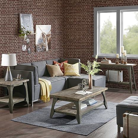 Amazon.com: Tinta? Mesa auxiliar gris/ver más abajo: Home ...