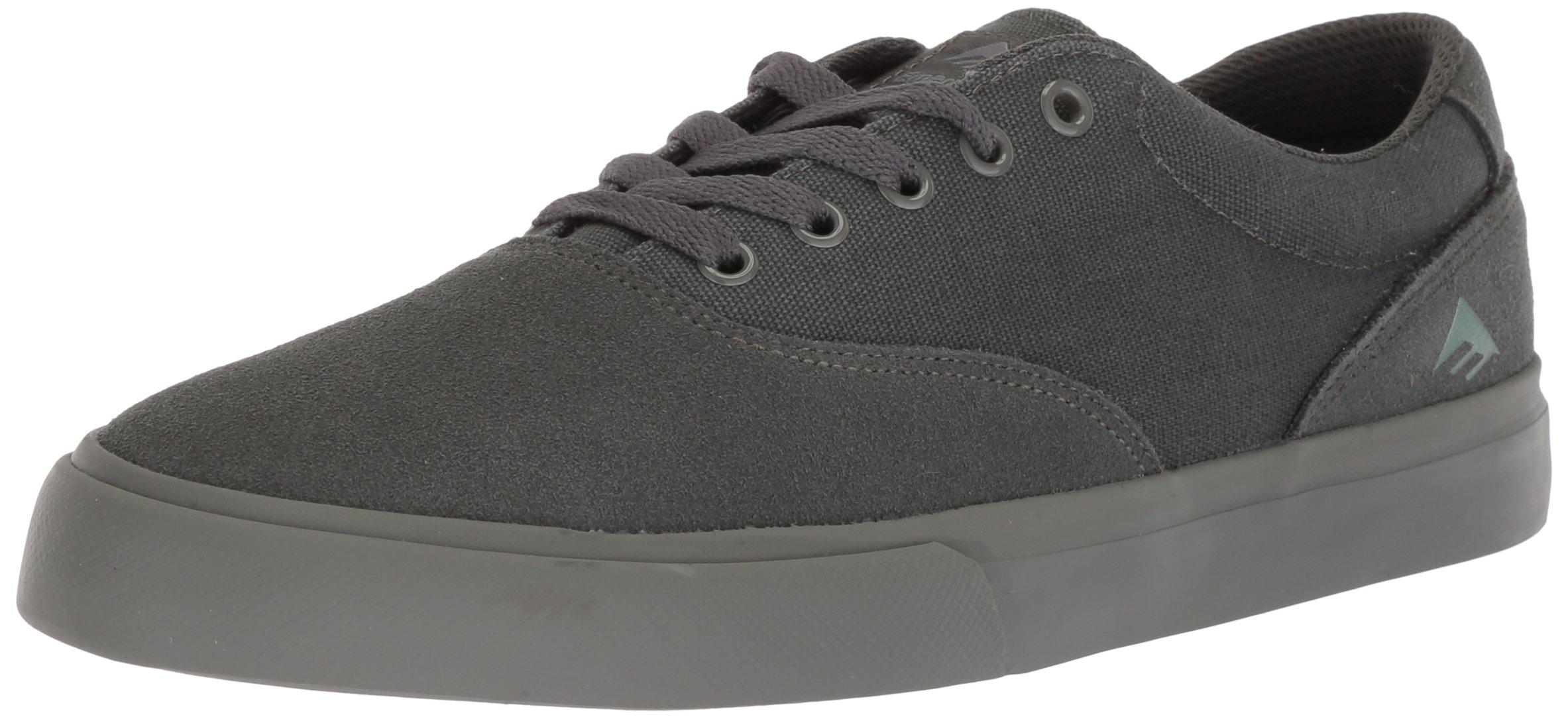 Emerica Provost Slim Vulc Skate Shoe,grey/grey,9