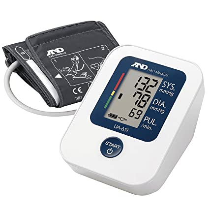 A&D Medical UA-651, Tensiómetro de brazo digital, detección del pulso arrítmico