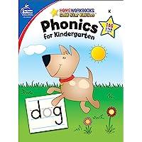 Phonics for Kindergarten, Grade K: Gold Star Edition