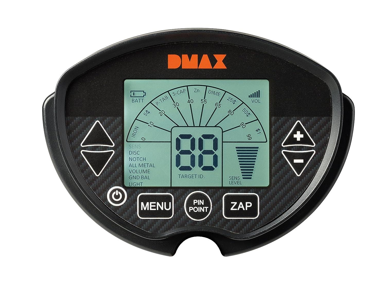 dmax Detector de metales Pro con 6 diferentes Métodos de Búsqueda para la detección de hierro, Cobre y plata: Amazon.es: Bricolaje y herramientas