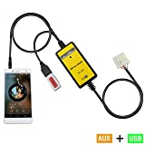Aux Interface,Yomikoo USB/AUX Mp3 Player Adapter