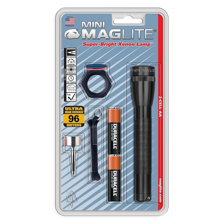 Rojo Mag-Lite M2A03LU Linterna 14.5 cm