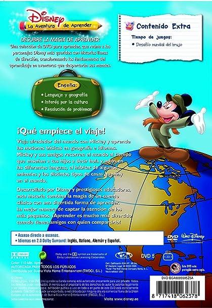 La vuelta al mundo en 80 días de Mickey: Explora el mundo DVD: Amazon.es: Varios: Cine y Series TV