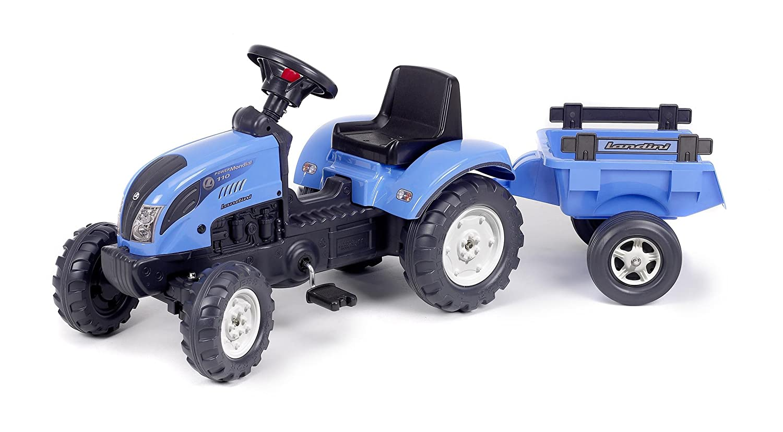 estar en gran demanda Falk 2050C Landini Powermondial 110 - - - Tractor a pedales con remolque, color azul  Más asequible