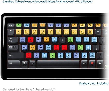 Steinberg Cubase/Nuendo teclado para ordenador portátil apto ...